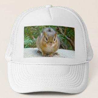 Cute Chipmunk Has His Eye On You Trucker Hat