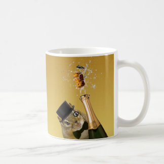 Cute Chipmunk New Year's Eve Party Coffee Mug