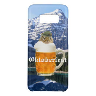Cute Chipmunk Oktoberfest Mountains Case-Mate Samsung Galaxy S8 Case