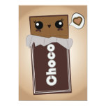 Cute Chocolate Bar Invitations