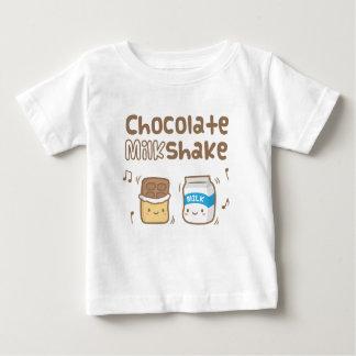 Cute Chocolate Milkshake Doodle For Babies Baby T-Shirt
