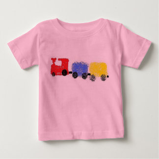Cute Choo-Choo Train Baby T-Shirt