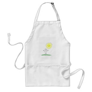 Cute Christian character with scripture Standard Apron