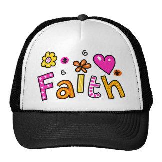 Cute Christian Faith Greeting Text Expression Cap