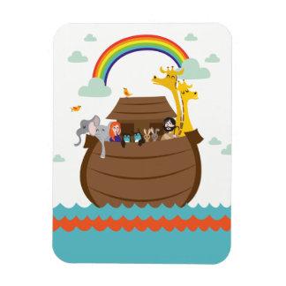 Cute Christian kids Magnet Bible Story Noah Ark