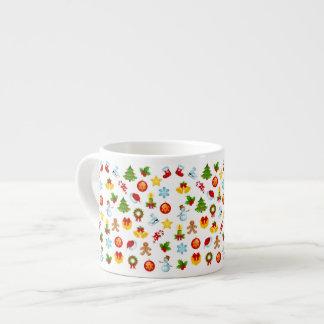 Cute Christmas 6 Oz Ceramic Espresso Cup