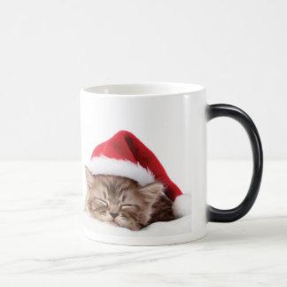 Cute Christmas Cat Mug
