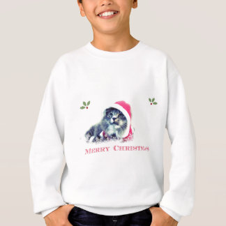Cute Christmas Cat Sweatshirt
