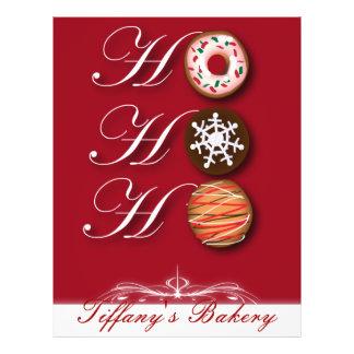 Cute Christmas Cookie Bakery Flyers