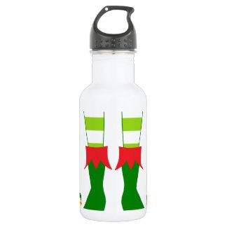Cute Christmas Elf Feet 532 Ml Water Bottle