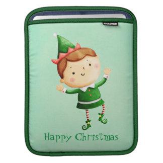 Cute Christmas Elf Sleeves For iPads