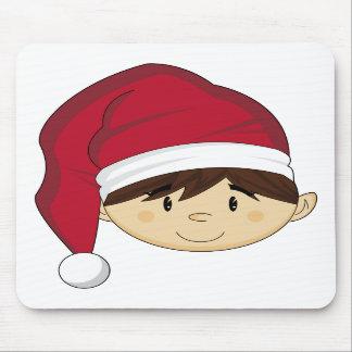 Cute Christmas Elf Mousepad