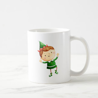 Cute Christmas Elf Mug