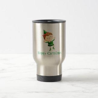 Cute Christmas Elf Coffee Mug