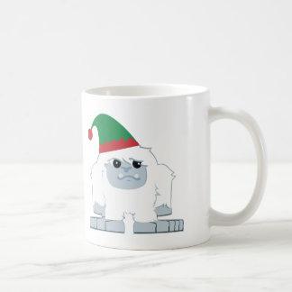 Cute Christmas Elf Yeti Mug