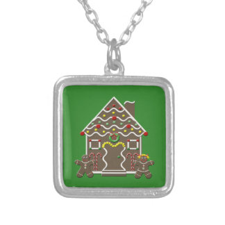 Cute Christmas Gingerbread House Jewelry