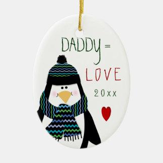 Cute Christmas Love DADDY Ornament