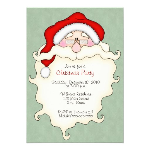 Cute Christmas Party Invitations