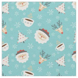 Cute Christmas Pattern Fabric