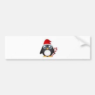 Cute Christmas Penguin Bumper Stickers