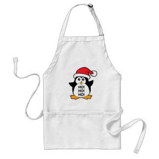 Cute Christmas Penguin Ho Ho Ho Apron