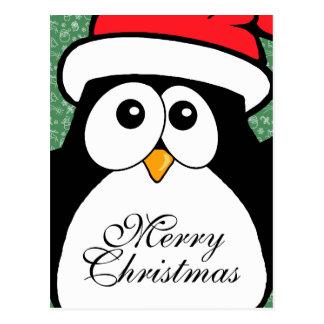 Cute Christmas Penguin Postcards