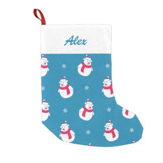 Cute Christmas Polar Bear Stocking