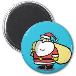 Cute Christmas Santa Magnet Magnets