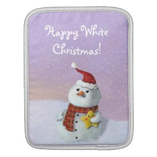 Cute Christmas Snowman Sleeves For iPads