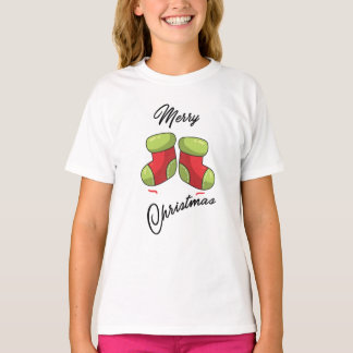 Cute Christmas socks. T-Shirt