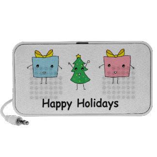 Cute Christmas iPod Speakers