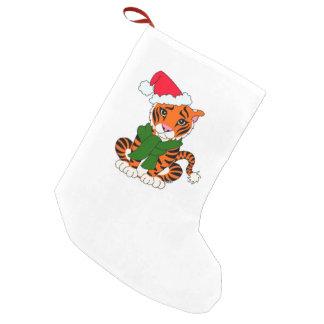 Cute Christmas Tiger Stocking