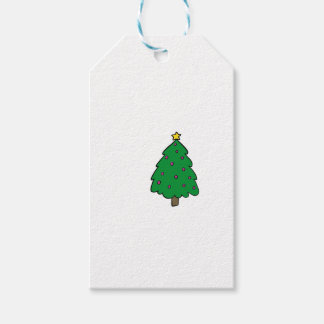 CUTE CHRISTMAS TREE GIFT TAGS
