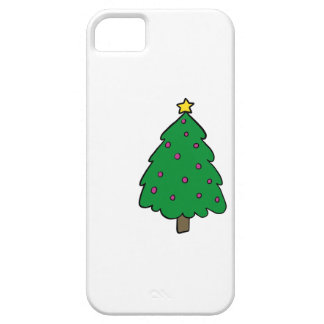 CUTE CHRISTMAS TREE iPhone 5 CASES