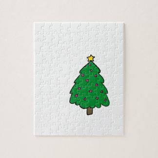 CUTE CHRISTMAS TREE JIGSAW PUZZLE