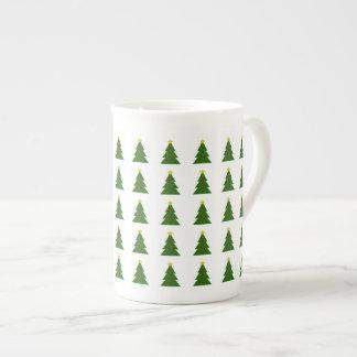 Cute Christmas Trees Tea Cup