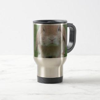 Cute Chubby Bunny Travel Mug