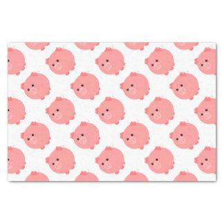 Cute Chubby Pig Tissue Paper