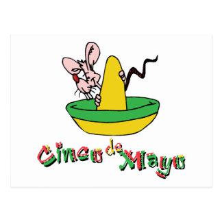 Cute Cinco de Mayo Postcards