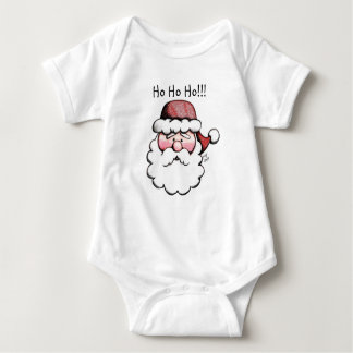 Cute Classic Santa Clause Baby Body Suit Baby Bodysuit