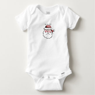 Cute Classic Santa Clause Baby bodysuit