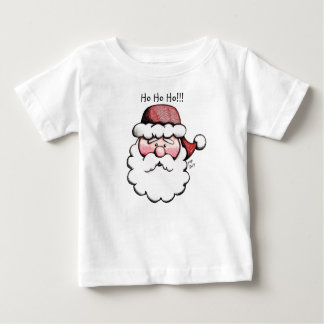 Cute Classic Santa Clause Baby T shirt