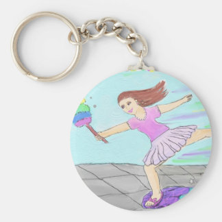 Cute Cleaning Lady Key Chains