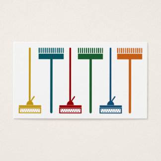 Cute Cleaning Service Business Cards