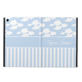 Cute Clouds and Stripes iPad Air Cover