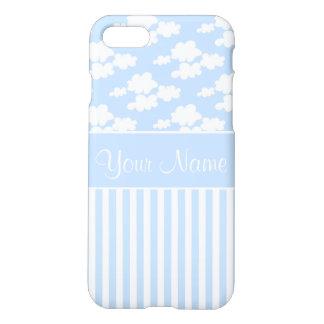 Cute Clouds and Stripes iPhone 8/7 Case