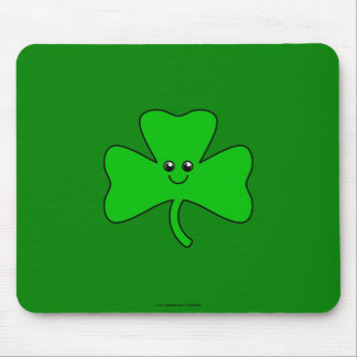 Cute Clover Mouse Pad