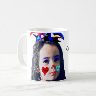 """Cute Clown"" Customisable Photo Mug"