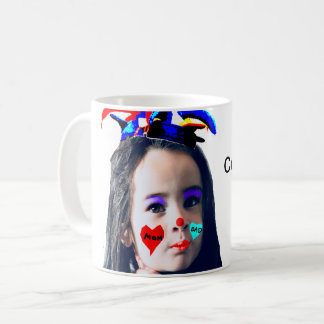 """Cute Clown"" Customizable Photo Mug"