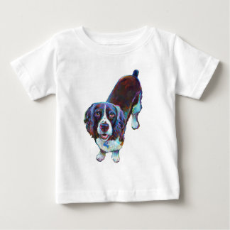 Cute Cocker Spaniel by Robert Phelps Baby T-Shirt